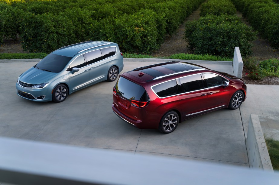 La Chrysler Pacifica.... (Photo : Fiat-chrysler)