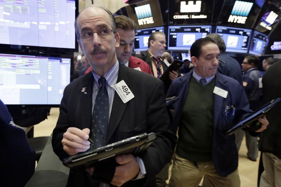 La Bourse de New York a battu des... (Photo Richard Drew, AP)