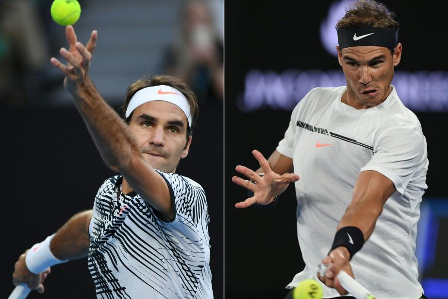 Ce qui ressort du face-à-face Federer-Nadal, c'est la... (Photos Agence France-Presse)