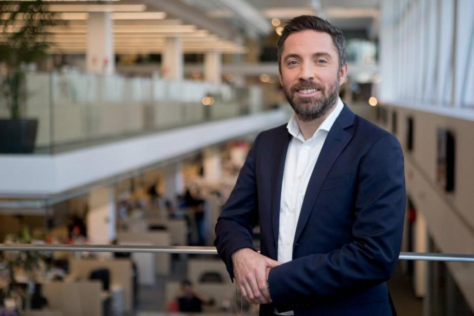 Pierre-Elliott Levasseur, président de LaPresse... (Photo David Boily, La Presse)