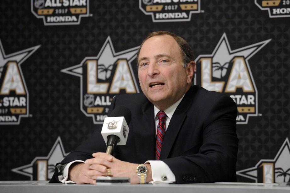 Le commissaire Gary Bettman se dit pessimiste de... (Photo Gary A. Vasquez, USA TODAY Sports)