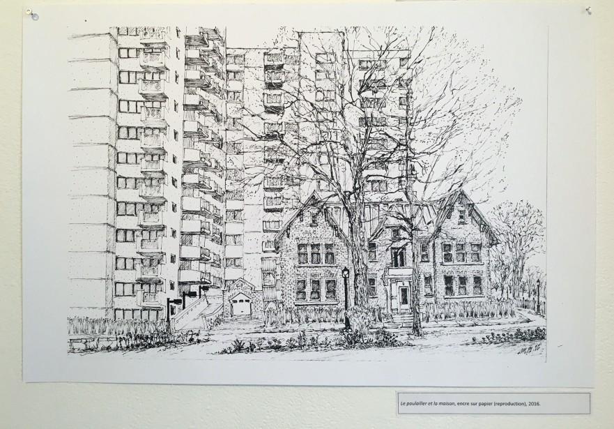 <i>La ville affronté</i>e est présentée jusqu'au 5février au 345, rue du Pont, à Québec. (Patrick Dubé)