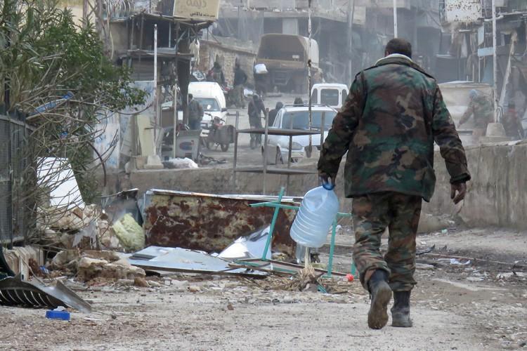 Bachar al-Assad avait exclu Wadi Barada de la... (PHOTO AFP)