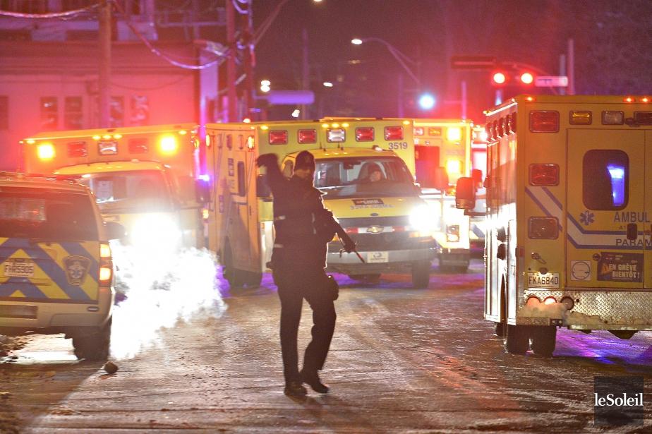 La fusillade meurtrière auCentre culturel islamique de Québec...
