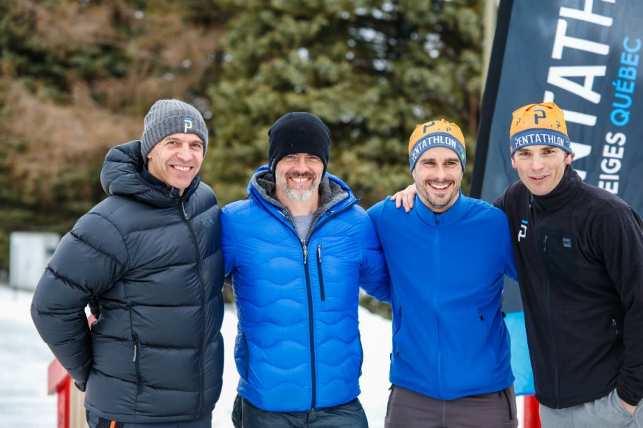 De gauche à droite: Serge Dessureault, Patrice Godin,... (Crédit photo : Robert Mahaits)