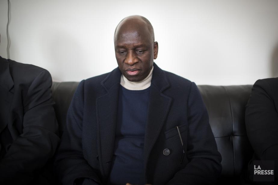 L'ambassadeur Saramady Touré.... (PHOTO OLIVIER PONTBRIAND, LA PRESSE)