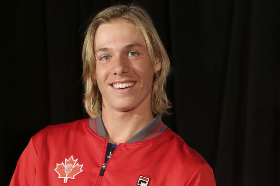 Denis Shapovalov est la petite recrue de l'équipe canadienne. | 31 janvier 2017
