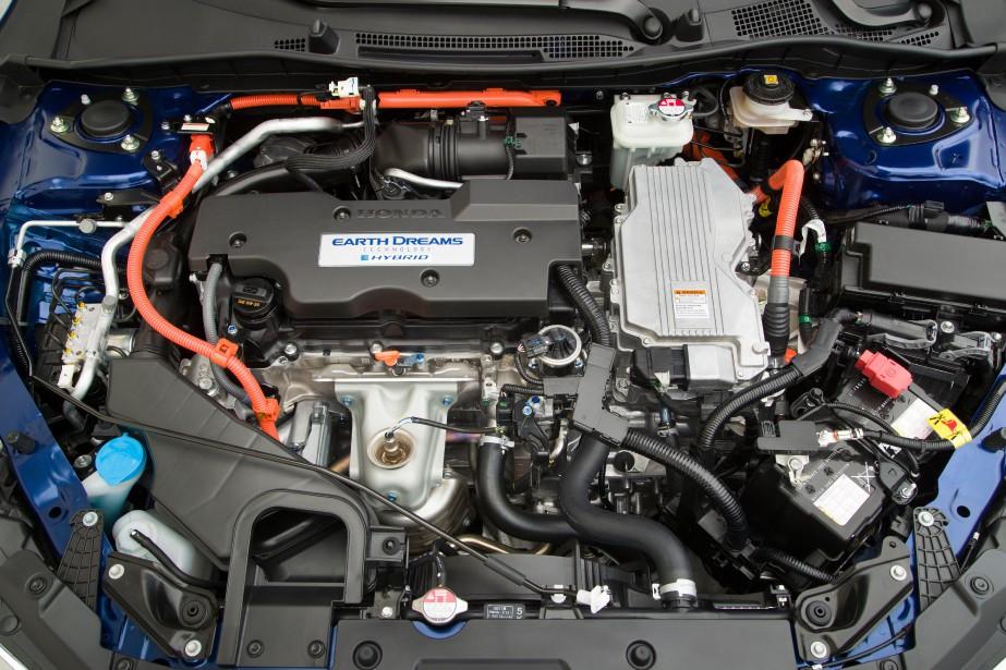 Essai routier Honda Accord hybride 2017. Photo fournie par le constructeur ()