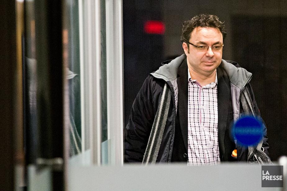 Maxime Roussy, photographié au palais de justice, le... (Photo Patrick Sanfaçon, ARCHIVES La Presse)