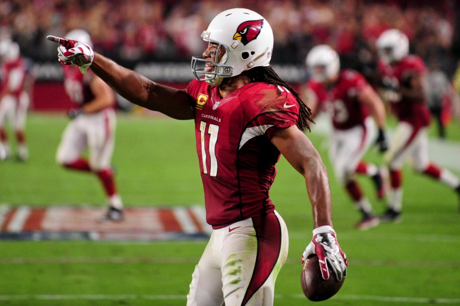 Larry Fitzgerald disputera une 14e saison dans la... (Photo Matt Kartozian, archives USA Today Sports)