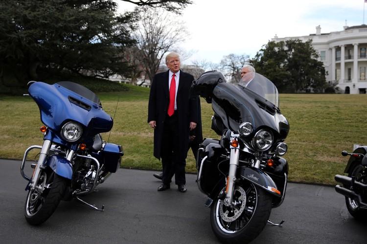 «Je n'ai rien assoupli», a affirmé Donald Trump... (PHOTO REUTERS)