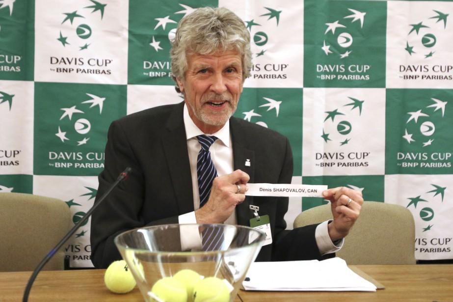 Brian Earley, l'arbitre de la Coupe Davis. | 2 février 2017