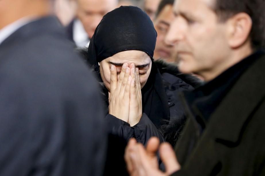 L'émotion était vive chez les participants à la cérémonie. (AFP, Chris Wattie)