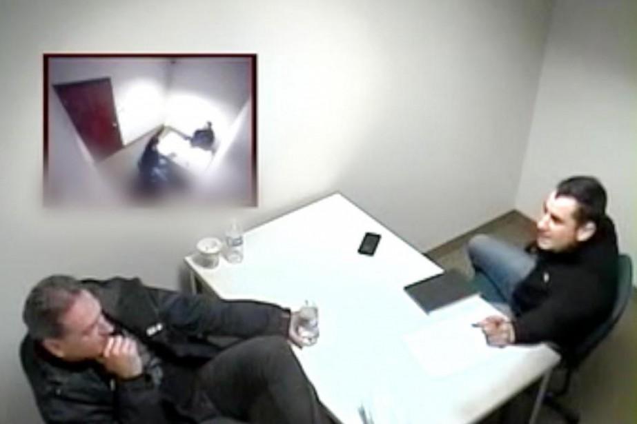 Interrogatoire de Andre Thibodeau, SPVM André Thibodeau... (PHOTO FOURNIE PAR LE SPVM)