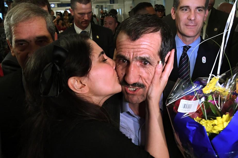 Malgré sa carte verte, Ali Vayeghan, unIranien de... (PHOTO Mark RALSTON, AFP)
