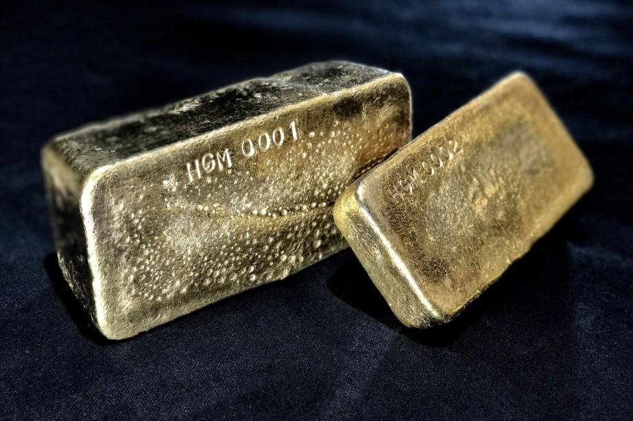 La demande annuelle d'or est ressortie à 4309tonnes... (Photo archives associated press)