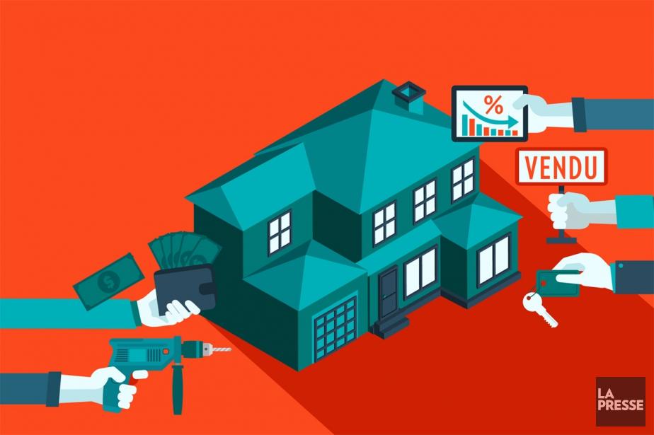 En immobilier, nos décisions s'appuient souvent sur... (ILLUSTRATION LA PRESSE)