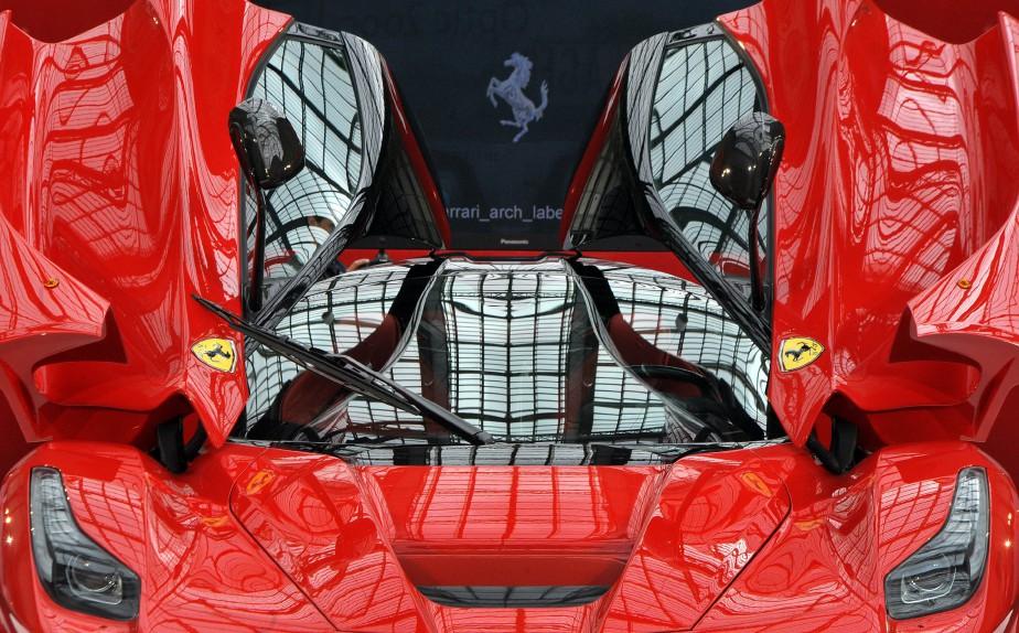 """The """"LaFerrari"""" car build by Italian car maker..."""