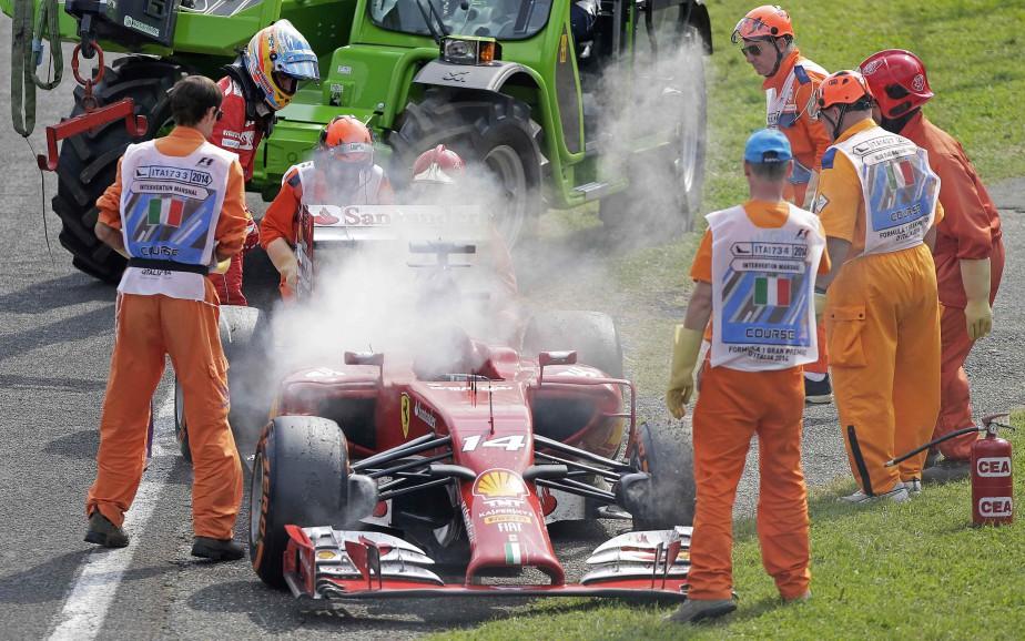 Ferrari a un passé glorieux en Formule 1 mais traverse actuellement une période de disette de près de 10 ans. (REUTERS)