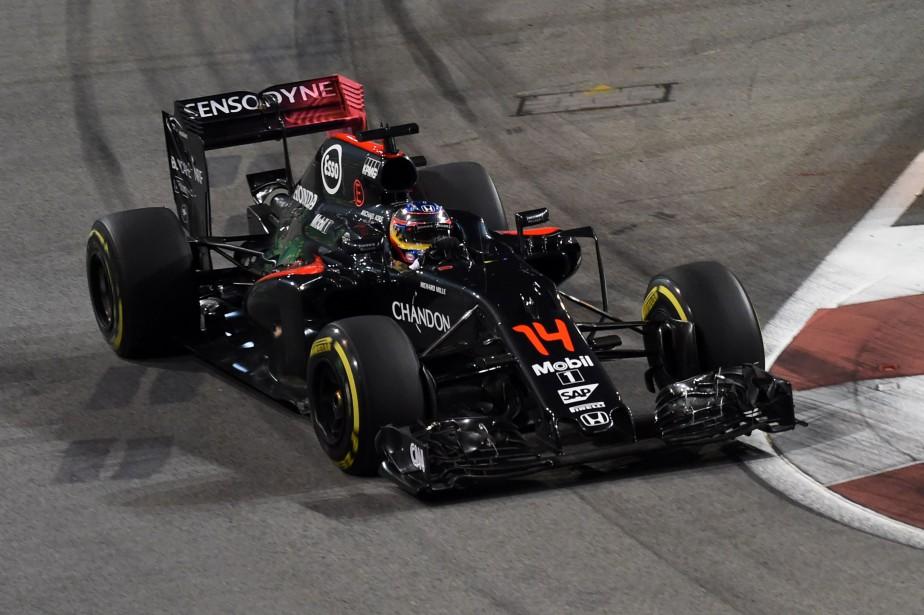 Toutes les McLaren de F1 portaient le préfixe... (photo : AFP)