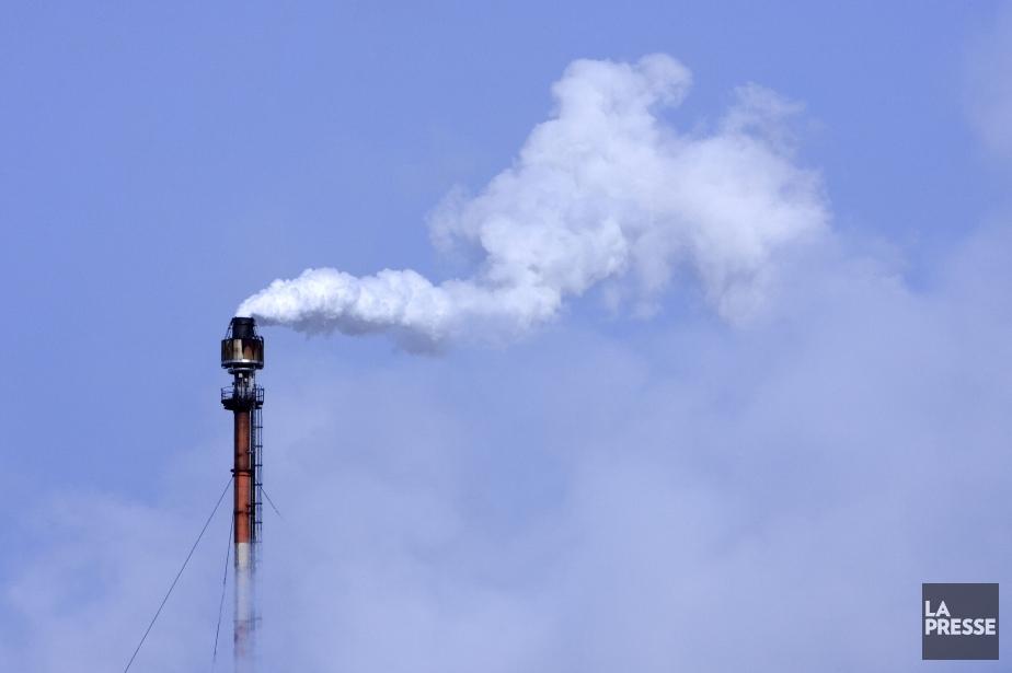 Un bilan collectif des émissions de gaz à... (Photo Archives, La Presse)