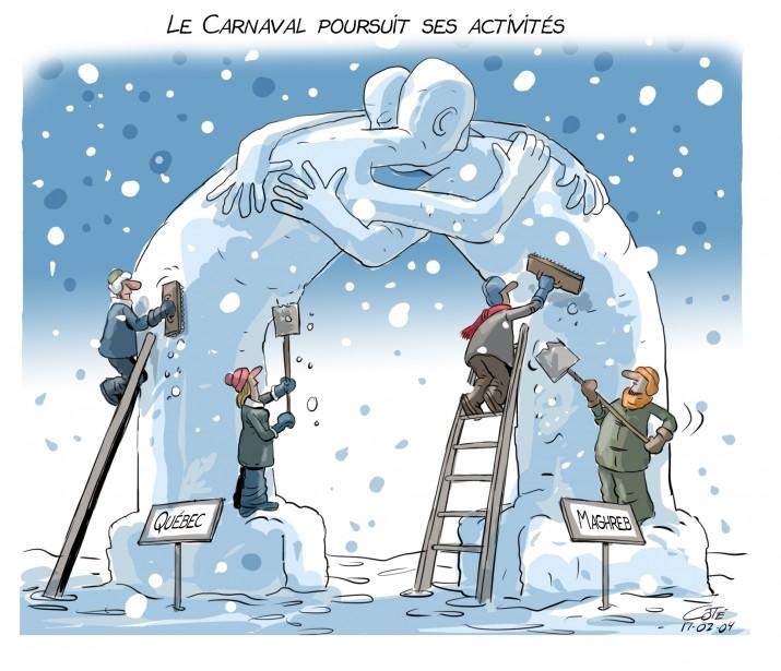 Caricature 4 février | 3 février 2017