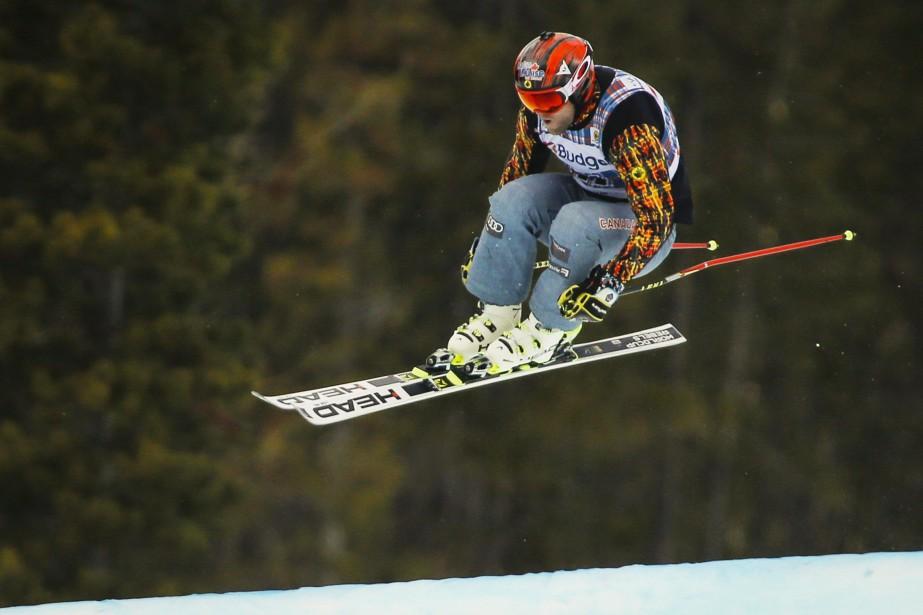 Brady Leman (sr la photo)a été devancé par... (Photo Jeff McIntosh, archives La Presse canadienne)