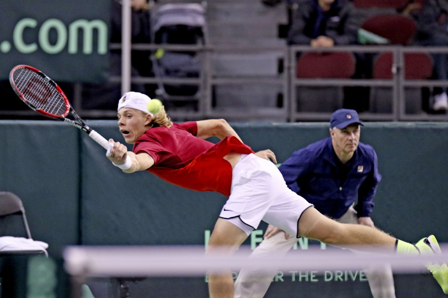 Le jeune Denis Shapovalov a gagné beaucoup d'expérience lors de cette aventure de la Coupe Davis. | 5 février 2017