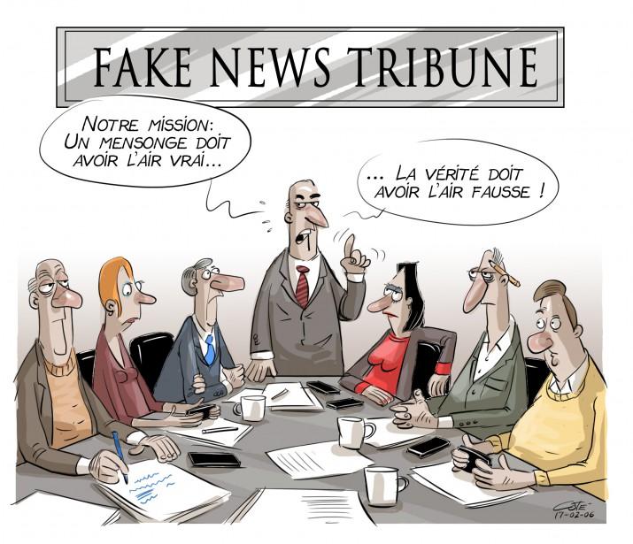 Caricature du 6 février | 5 février 2017