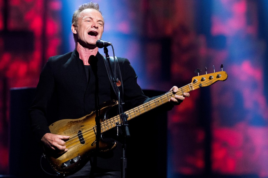 Sting... (PHOTO ARCHIVES REUTERS)