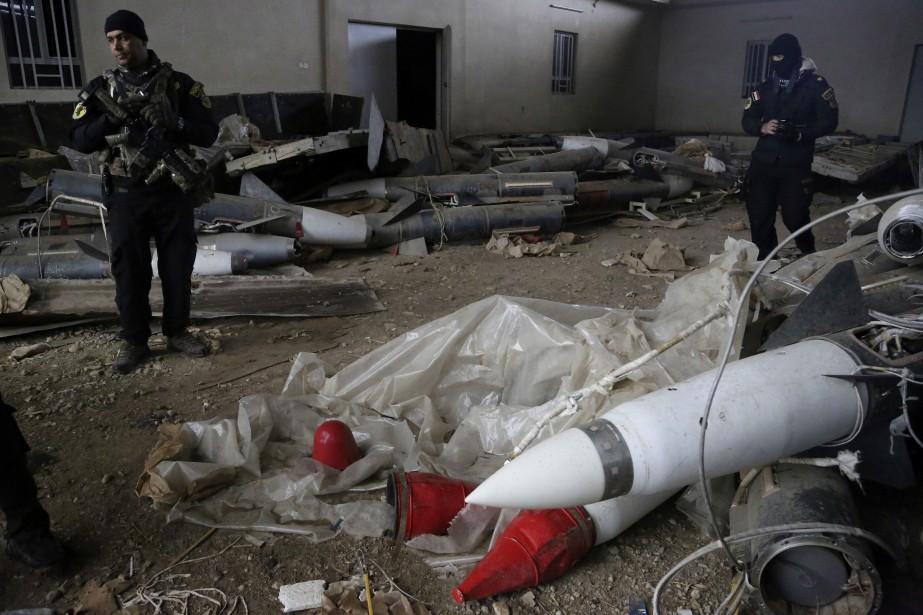 Selon le Pentagone, des examens d'échantillons prélevés sur... (PHOTO Khalid Mohammed, ARCHIVES AP)