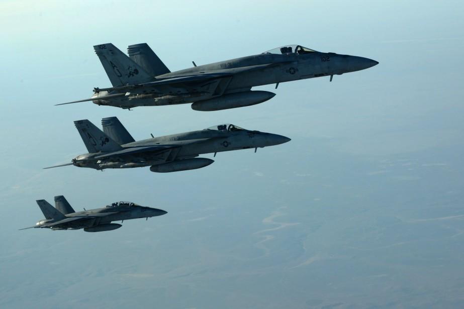 Un général a décrit l'aviation américaine et ses... (PHOTO ARCHIVES AFP)