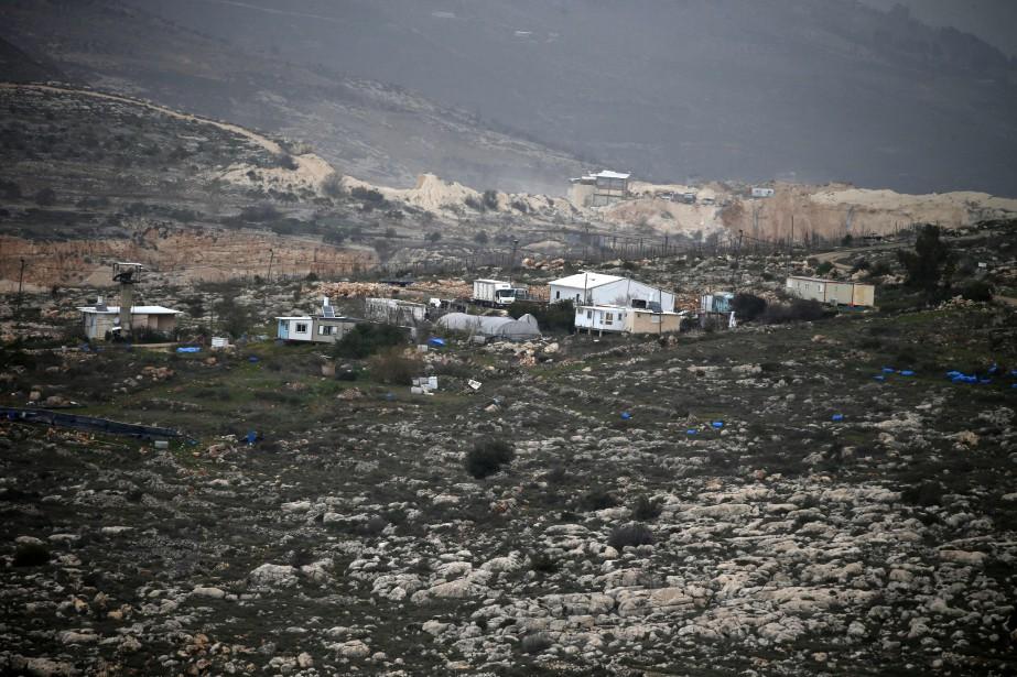 La loi adoptée lundi permet à Israël d'exproprier,... (Photo Jaafar Ashtiyeh, Agence France-Presse)
