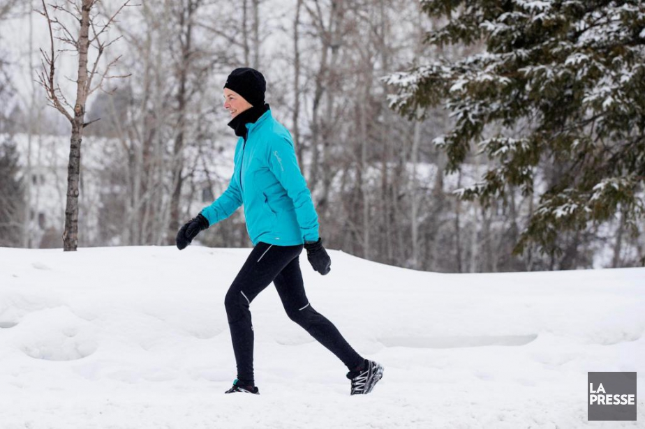 Judy Ségion est retraitée depuis peu, mais marcher... (PHOTO ALAIN ROBERGE, LA PRESSE)