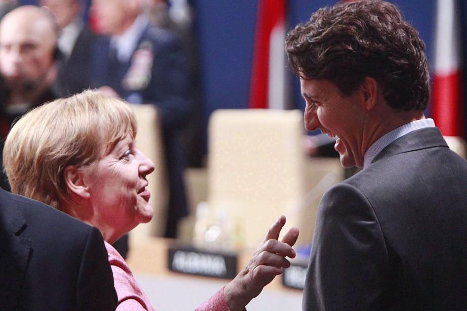 Le premier ministre canadien Justin Trudeau se rendra... (Photo Czarek Sokolowski, archives AP)