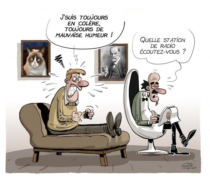 Caricature du 9 février | 8 février 2017