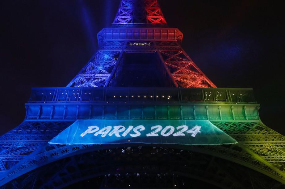 Paris-2024 a dévoilé son slogan officiel de candidature,... (Photo Patrick KOVARIK, AFP)