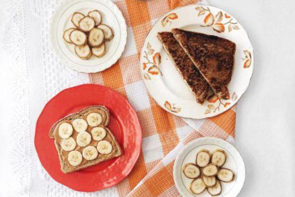 Sandwich grillé au beurre d'arachides, à la banane,... (Photo Maude Bergeron, tirée du blogue Cuisine estudiantine)