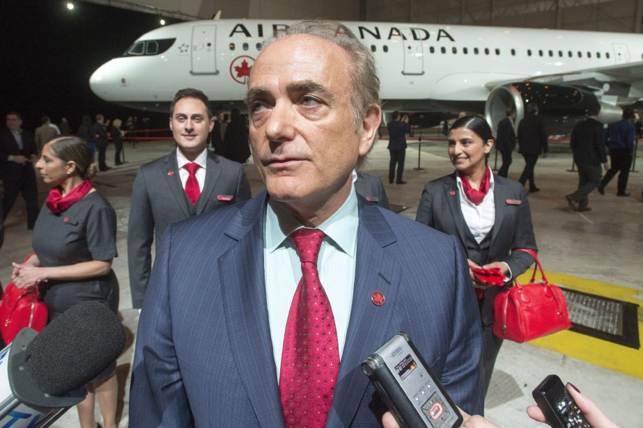Le PDG d'Air Canada, Calin Rovinescu... (THE CANADIAN PRESS)