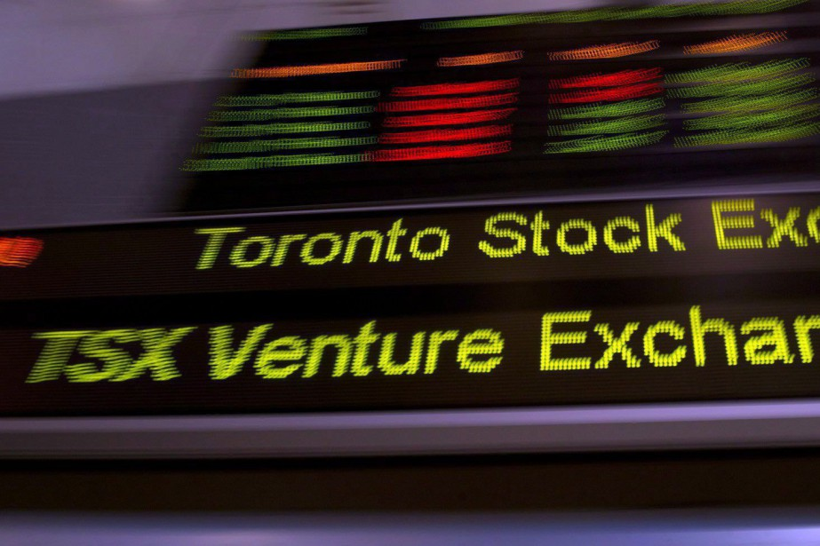 L'indice de référence de la Bourse de Toronto et... (Photo La Presse Canadienne)