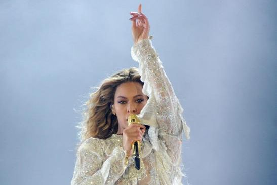 Beyoncé lors de sa tournée mondiale The Formation.... (PHOTO ARCHIVES AP)