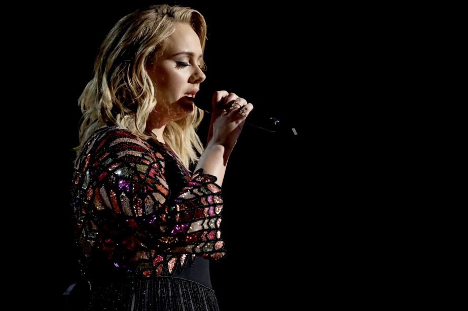 Adele a laissé entendre que sa... (Photo Matt Sayles, archives Invision/AP)