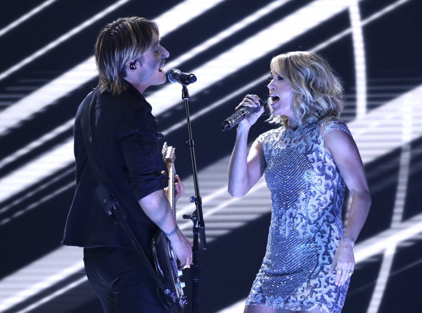 Keith Urban et Carrie Underwood | 12 février 2017