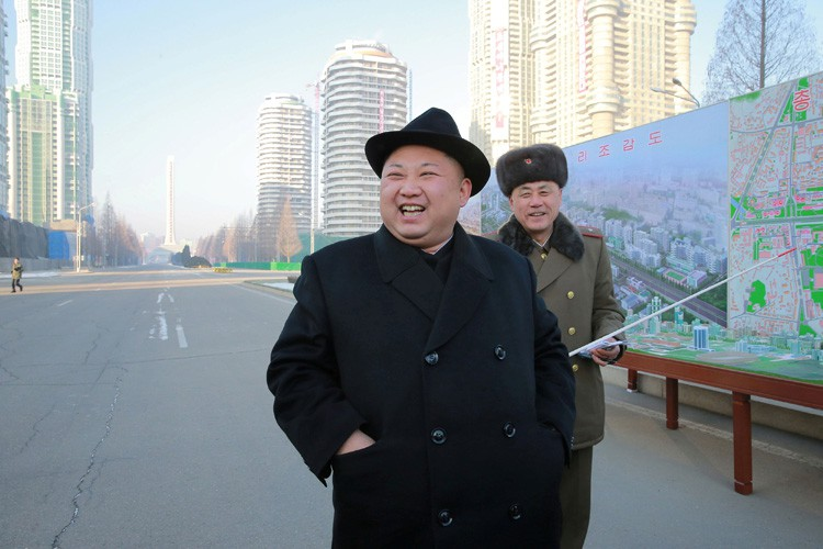 Selon Kim Jong-Un, ses missiles mettent le Pacifique... (ARCHIVES REUTERS)