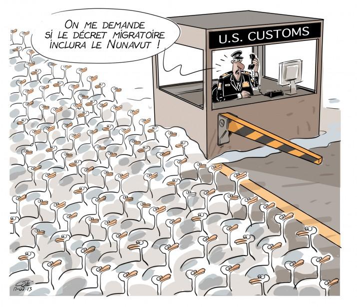 Caricature du 13 février | 13 février 2017