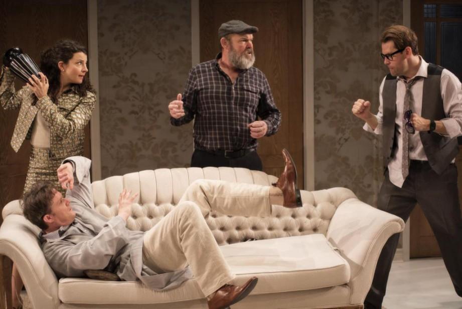 Dirigés par Jacob Tierney, les acteurs Chala Hunter,... (Photo Andrée Lanthier, fournie par le Segal Centre)