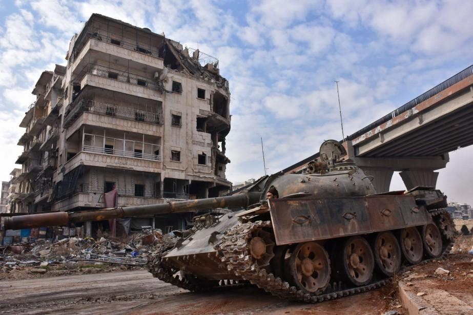 Le quartier d'al-Sakhour.... (Photo George Ourfalian, archives Agence France-Presse)