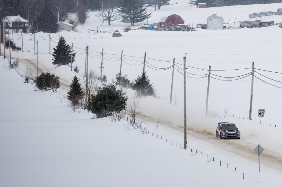 Le rallye Perce-Neige se déroule sur 481 km de neige et de glace et dure seulement une journée, alors que la plupart des épreuves durent deux jours. Quarante-quatre équipes s'étaient rendues à Maniwaki pour la compétition du 4 février, remportée par l'Anglais David Higgins, sur Subaru. | 13 février 2017
