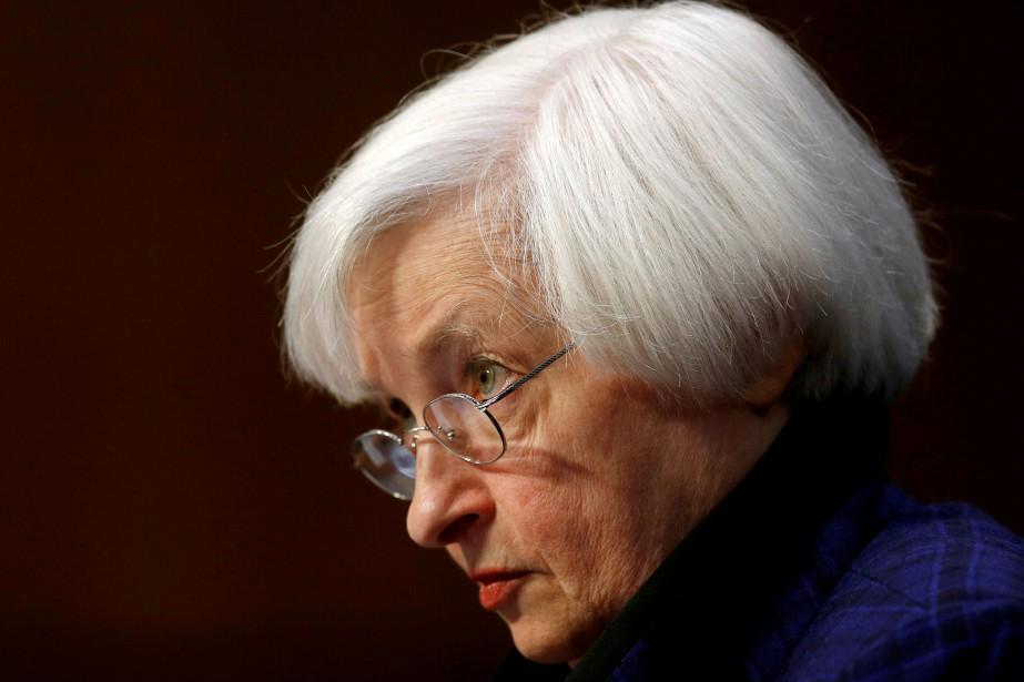La présidente de la Réserve fédérale américaine Janet... (REUTERS)