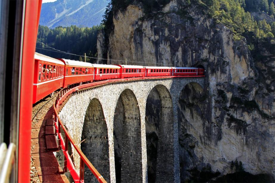 Depuis le début de l'année, la société de train... (Photo fournie par Eurail)